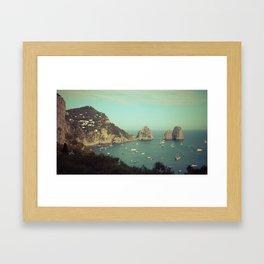Amalfi coast, Italy 2 Framed Art Print