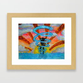 Whirled Hooper Framed Art Print