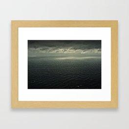 HERE BE MONSTERS Framed Art Print
