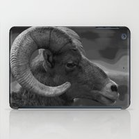 ram iPad Cases featuring Ram by Barbara Schultheis