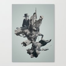 Rib Cage Canvas Print