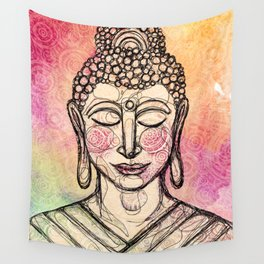 The Mindful Buddha Wall Tapestry