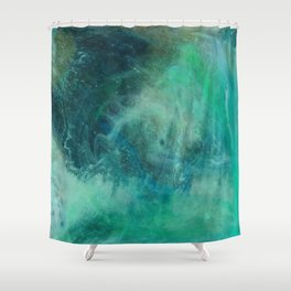 Abstract No. 318 Shower Curtain