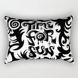 Time For Fun Rectangular Pillow