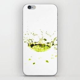 Watersplash iPhone Skin