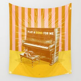 PLAY A SONG FOR ME Wall Tapestry
