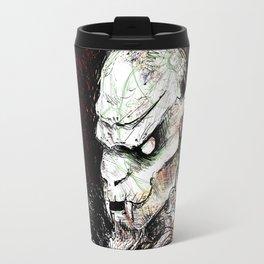 Krampus Grunge Travel Mug