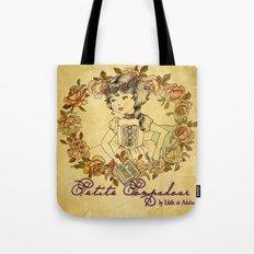 Petite Pompadour Tote Bag