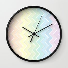 Zigzag Wall Clock
