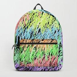 80s retro vintage design Backpack
