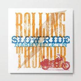 Rolling Thunder, Nashville Metal Print