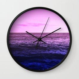 Bi Pride Wall Clock