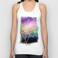 night sky Tank Tops featuring night sky by Cat Milchard