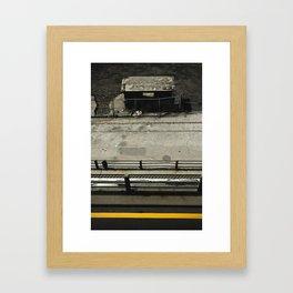 Levels below Framed Art Print