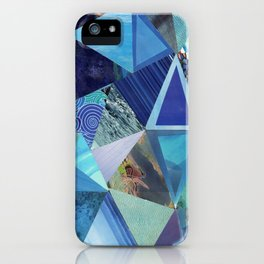 Collage - So Blue iPhone Case