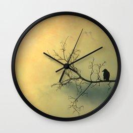 Solitude Mood Wall Clock