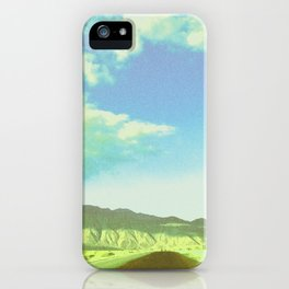 Borrego Desert Drive iPhone Case