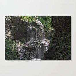 Rainbow Falls at Watkins Glen Canvas Print
