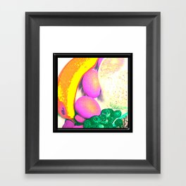 Passionate Fruits Framed Art Print