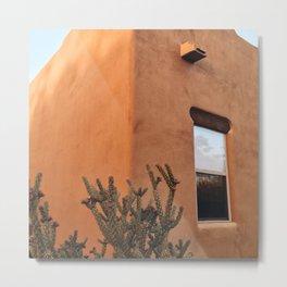 Arizona Adobe Metal Print