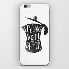 italians do it better ! iPhone & iPod Skin