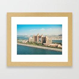 the atlantis resort in dubai Framed Art Print