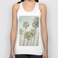 palm trees Tank Tops featuring Palm Trees by Pure Nature Photos