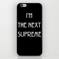 supreme iPhone & iPod Skins featuring Supreme by Lyre Aloise