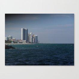Coastal High Rise Canvas Print