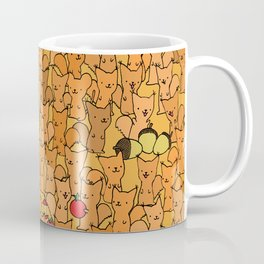 Mouse among squirrels Coffee Mug