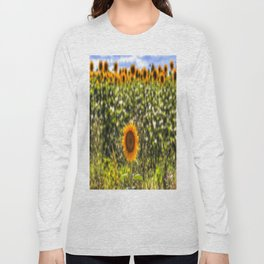 The Lonesome Sunflower Long Sleeve T-shirt