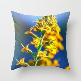 Brassica Rapa Throw Pillow