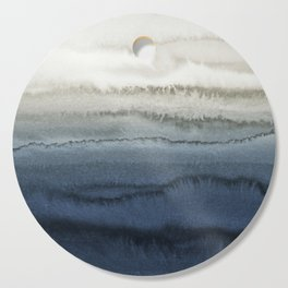 WITHIN THE TIDES - CRUSHING WAVES BLUE Cutting Board
