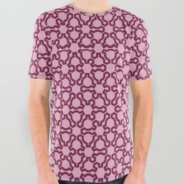 Fractal Lace All Over Graphic Tee