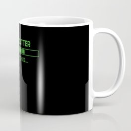 Meat Cutter Loading Coffee Mug