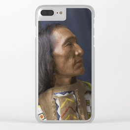 Little Dog - Brulé Lakota Sioux - American Indian Clear iPhone Case