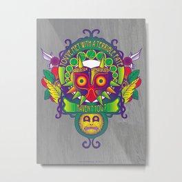 Majora Nouveau Metal Print