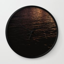 The Sunset After the Storm Wall Clock