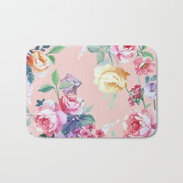 Floral pattern 2 Bath Mat
