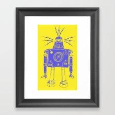 Mr Roboto Framed Art Print
