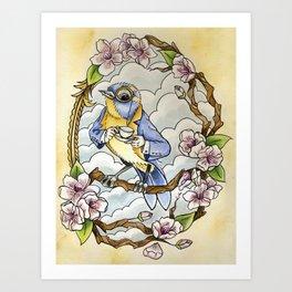 Mr. Robin  Art Print