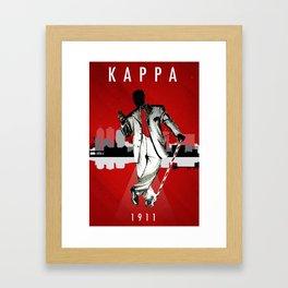 Kappa Framed Art Print