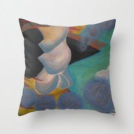 Emotional Ride Throw Pillow