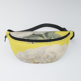 Twins Flowers over Boho Fanny Pack