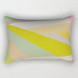 Retro Geometry V Rectangular Pillow