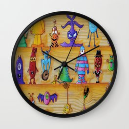 Creatch: First Impressions (Character Introduction) Wall Clock