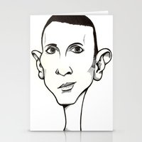 marc Stationery Cards featuring Marc Almond, Soft Cell by Mr Shins