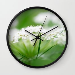 Delicate with Strength Wall Clock