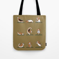 Beagle Yoga Tote Bag