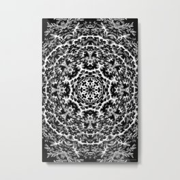 Black-and-White Abstract 33 Metal Print